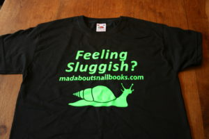 Feeling Sluggish? - madaboutsnailbook T-shirts for Christmas 2011